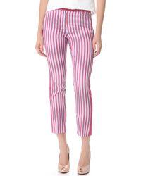 Philosophy di Alberta Ferretti - Striped Pants - Lyst