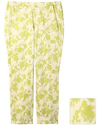 Uniqlo Print Cropped Leggings Trousers printa - Lyst