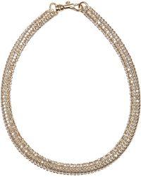 Atelier Swarovski Tubular Crystal Necklace - Lyst