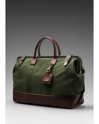 Billykirk 20 Inch Carryall in Olive with Brown - Lyst