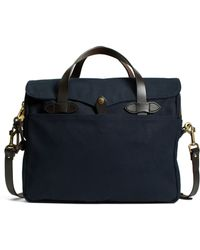 Brooks Brothers Filson® Padded Computer Briefcase blue - Lyst