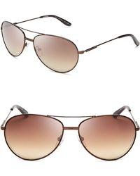 Carrera Top Bar Aviator Sunglasses - Lyst