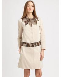 Gryphon - Mosaic Trench Coat - Lyst