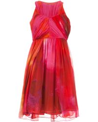 Matthew Williamson Sleeveless Dress - Lyst