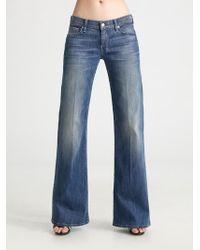 7 For All Mankind Dojo Trouser Jeans - Lyst