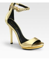 Boutique 9 Obrianna Rhinestone Anklestrap Sandals - Lyst