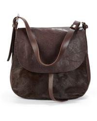 Massimo Palomba - Cusco Haircalf Leather Hunting Bag - Lyst