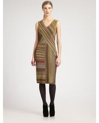 Missoni Lurex Stripe Dress - Lyst