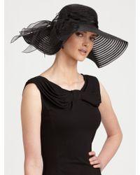 Armani - Widebrim Hat - Lyst
