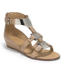 Boutique 9 Porsha Low Wedge Sandals - Lyst