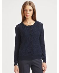 Lavia18 - Wool Lace Cardigan - Lyst