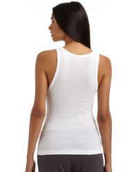 Maggie Ward | Ribbed Tankwhite | Lyst