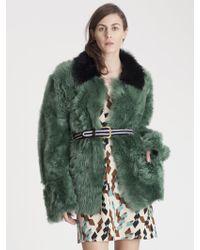 Marni Fur Coat - Lyst