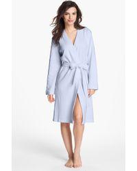 Carole Hochman Designs Cotton Robe - Lyst