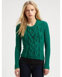 Marc By Marc Jacobs Uma Merino Wool Sweater - Lyst