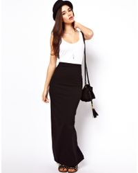 ASOS Collection Asos Maxi Skirt - Lyst