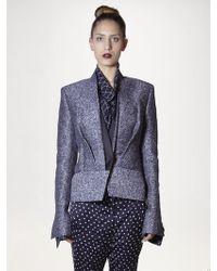 Haider Ackermann Tweed Jacket - Lyst