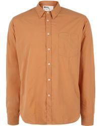 Margaret Howell - Orange Slimfit Cotton Shirt - Lyst
