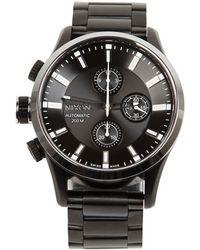 Nixon - The Automatic Ltd Edition Chrono Watch - Lyst