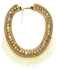 Fiona Paxton - Inez Gold Plated Necklace - Lyst