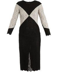 L'Wren Scott Diamond Lace Dress - Lyst