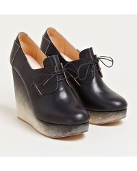 Ets Callatay - Womens Derby Platform Shoes - Lyst
