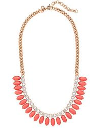 J.Crew Sunflower Necklace - Lyst