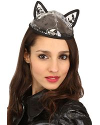 Maison Michel Bibi Yoko Pvc Cat Ear Hat - Lyst