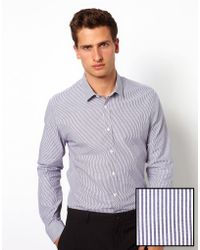 Rock Revival | Asos Smart Stripe Shirt | Lyst