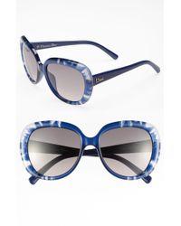 Dior Blue Optyl Sunglasses - Lyst