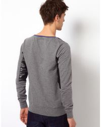 Izzue - Sweatshirt with Patch Detail - Lyst