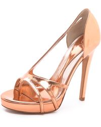 McQ by Alexander McQueen Bare Strappy Sandals - Lyst