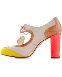 Minna Parikka - Heart Work and Dedication Heel in Bright - Lyst