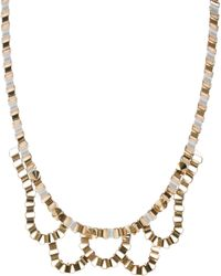 John & Pearl | John Pearl Loop Necklace | Lyst