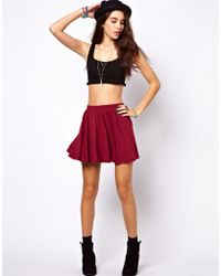 ASOS Collection Skirt in Skater Style - Lyst