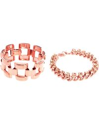 ASOS Collection Asos Linked Stone Bracelet Pack - Lyst