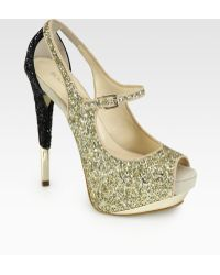 Boutique 9 | Nickeya Glitter Mary Jane Pumps | Lyst