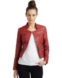Improvd | Leather Jacketred | Lyst