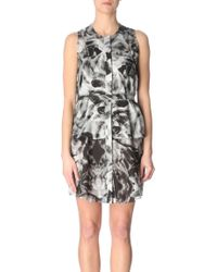 McQ by Alexander McQueen Irisprint Dress - Lyst