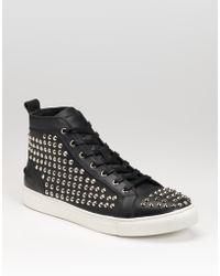 Rock & Republic Studded Sneakers - Lyst