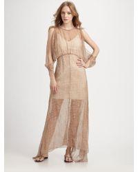 Alice + Olivia Nadja Layered Silk Dress - Lyst