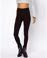 ASOS Collection Full Length Leggings in High Waist - Lyst