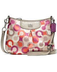 Coach Madison Diagonal Op Art Fashion Swing Pack - Lyst