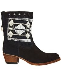Cobra Society Otto Suede Bootie - Lyst