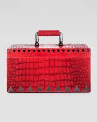 Eddie Borgo - Crocodileembossed Jewelry Box R - Lyst