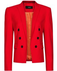 Mango Decorative Buttons Blazer - Lyst