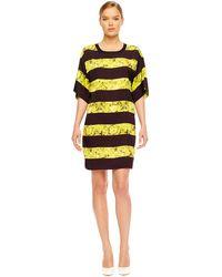 Michael Kors Floral-Print Dress - Lyst