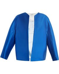 Thomas Tait - Zibeline Collarless Jacket - Lyst