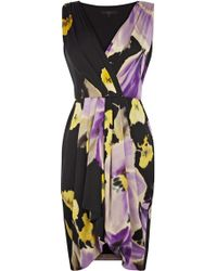 Coast Lahna Dress purple - Lyst