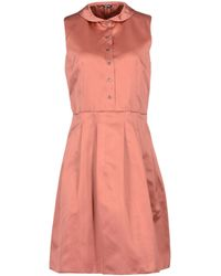Jil Sander Navy Short Dresses - Lyst